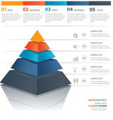 Fotografie Pyramid chart