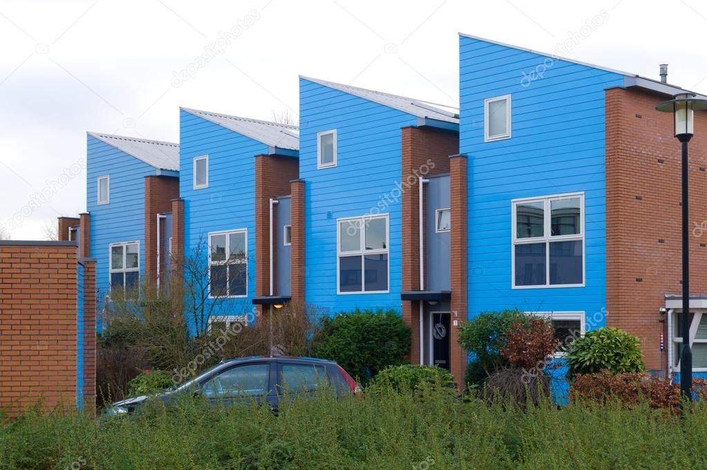 Moderne huizen u stockfoto hansenn