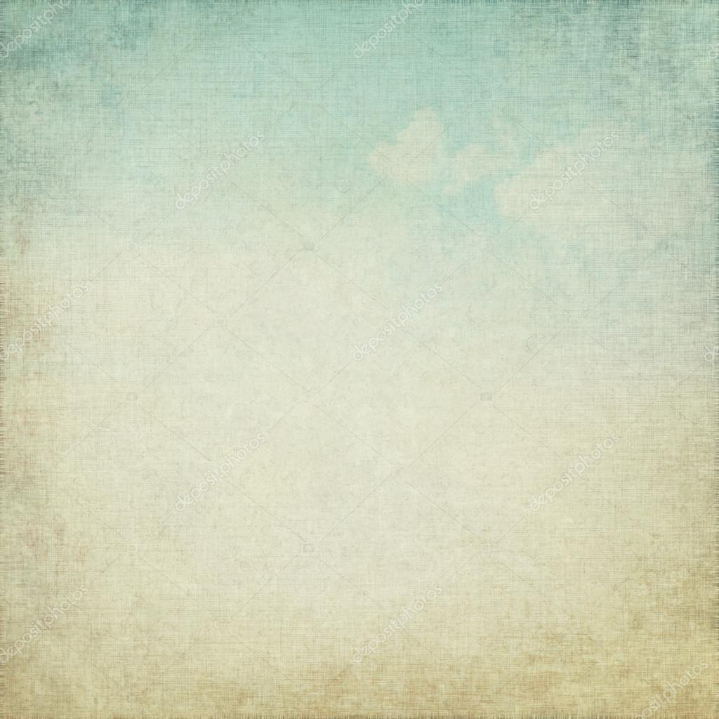 grunge background with blue sky view