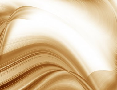 brown abstract background texture smooth wave pattern, may use to coffee advertising