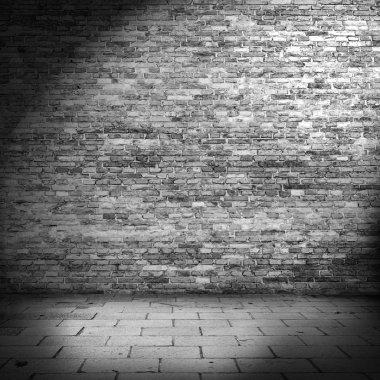 Dark brick wall texture