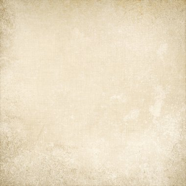 Old parchment paper background canvas texture grunge background stock vector