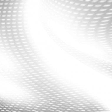 White background mesh grid pattern