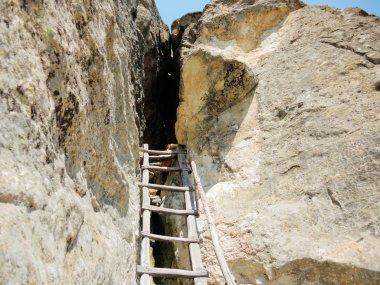 The Rock Womb at Nenkovo in Bulgaria