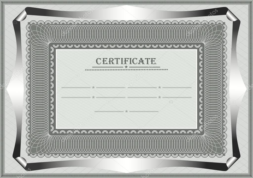 Rahmen für amtliches Dokument — Stockvektor © tatyanamh #29810957