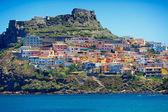 Fotografia borgo medievale di castelsardo, Sardegna, Italia