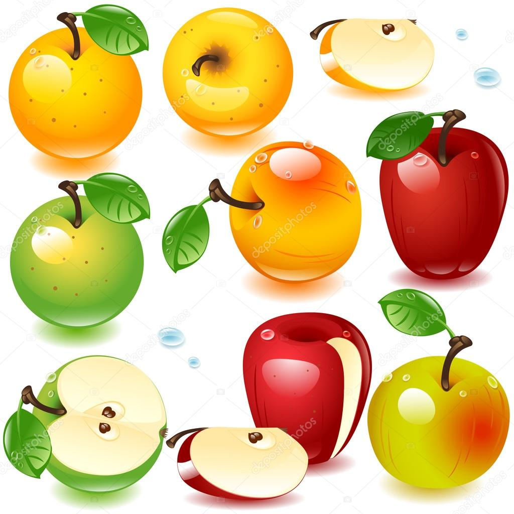 Apples set