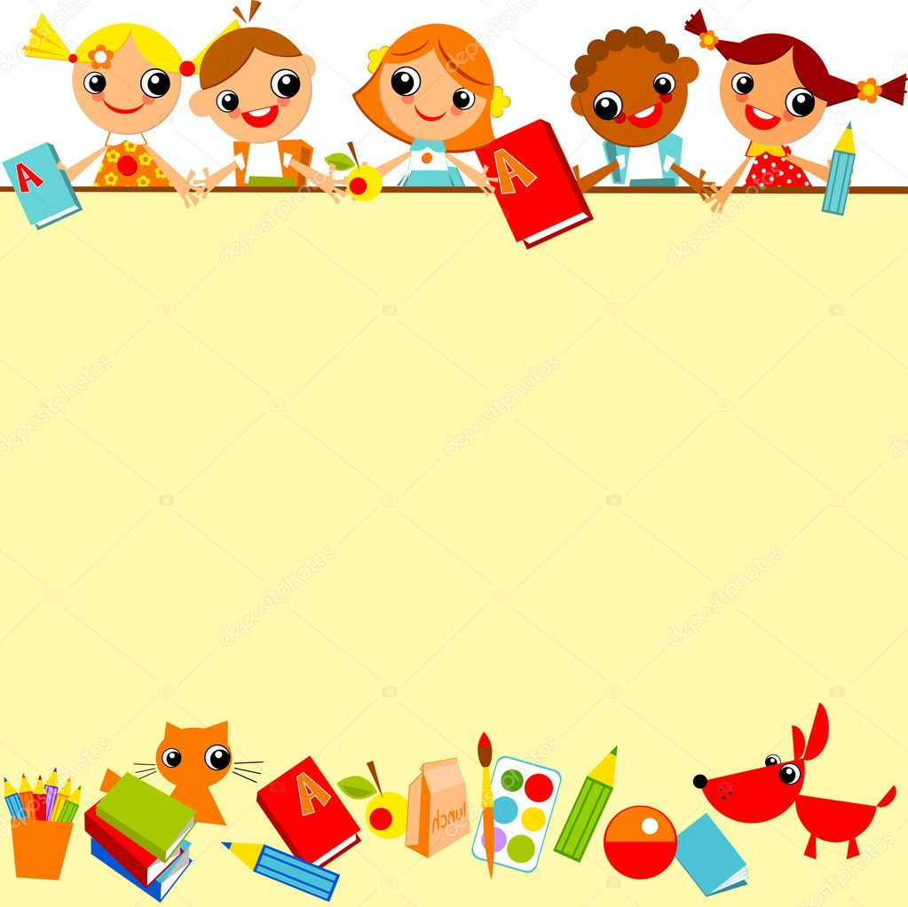 school children's background