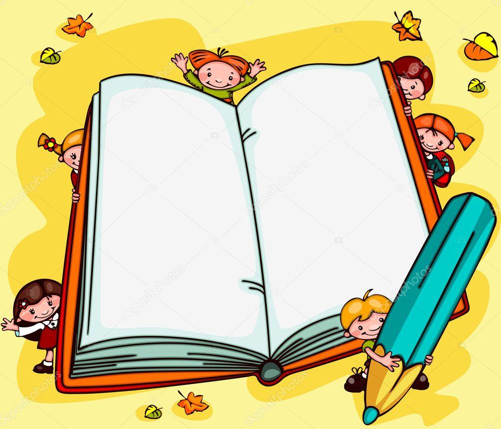 Schule Hintergrunde Buch Stockvektor C Usikova 51063069