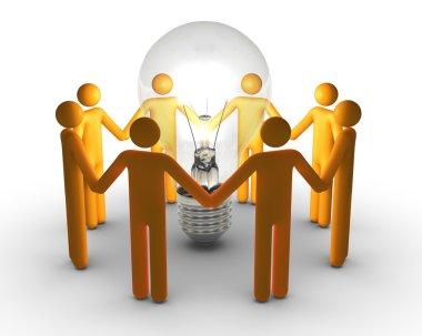 Team work for ideas