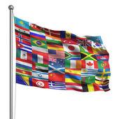 Fényképek a zászlók gyűjtemény