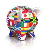 Piggy Bank - zászlók gyűjteménye