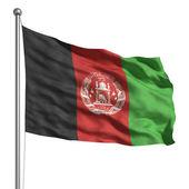 Fotografie Flag of Afghanistan
