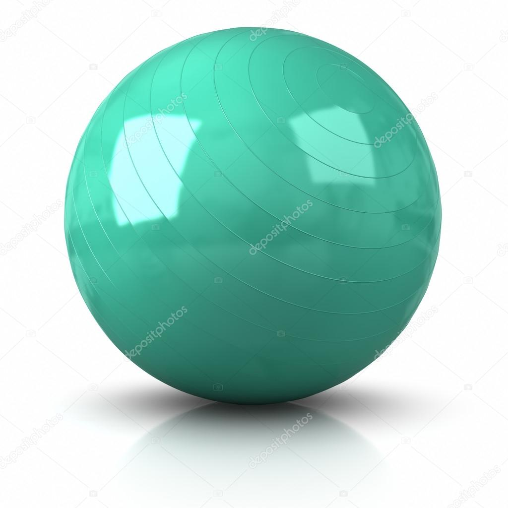ballon de fitness — photographie ayzek © #30034407