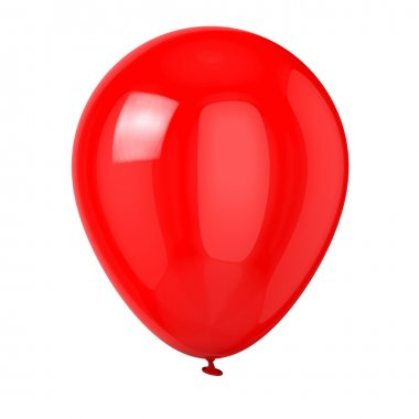 Balloon isolated on white background. stock vector
