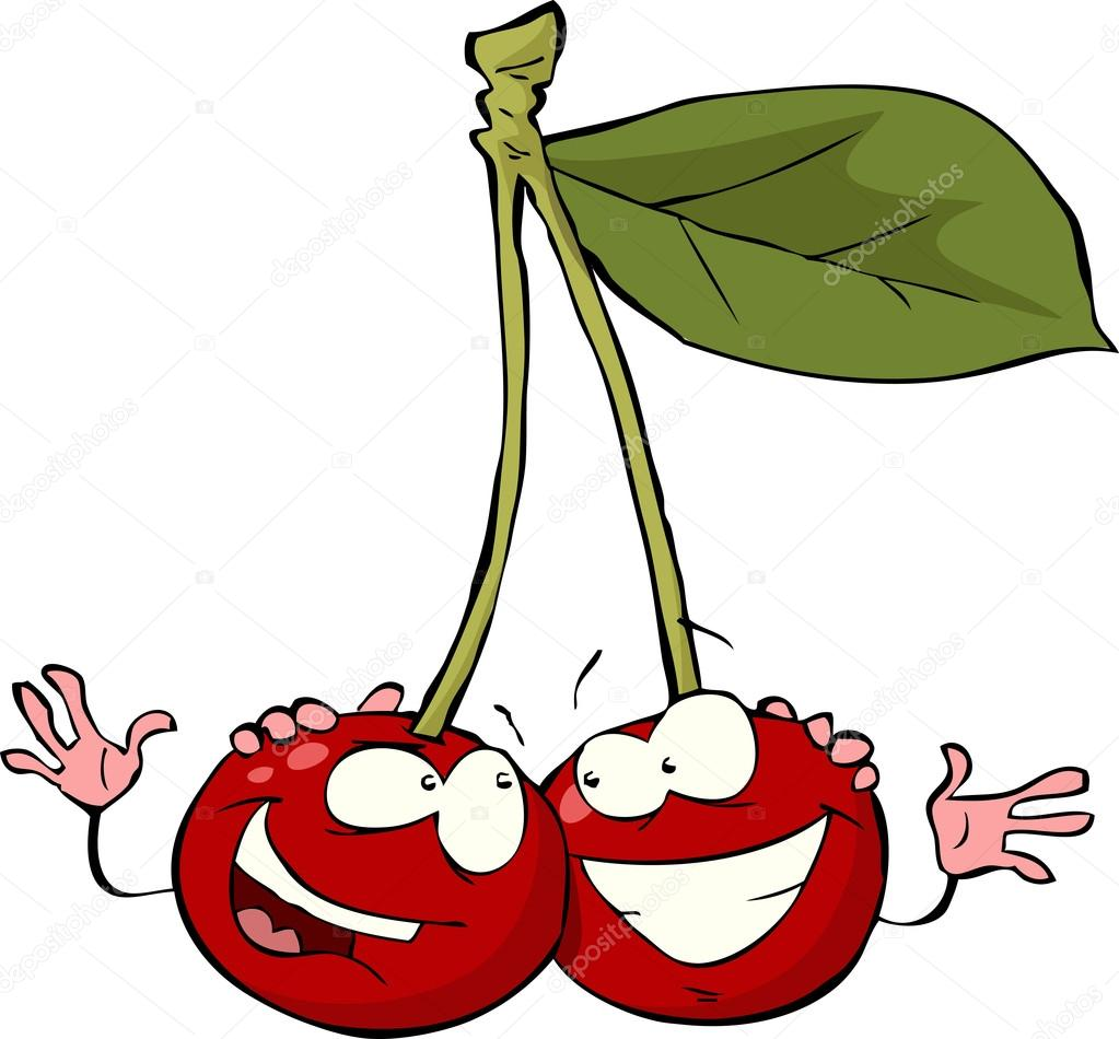 Смешные рисунки вишни