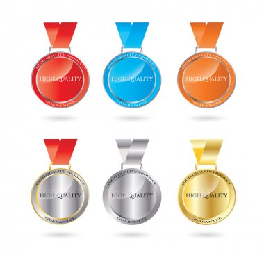 Vector High Quality Medal