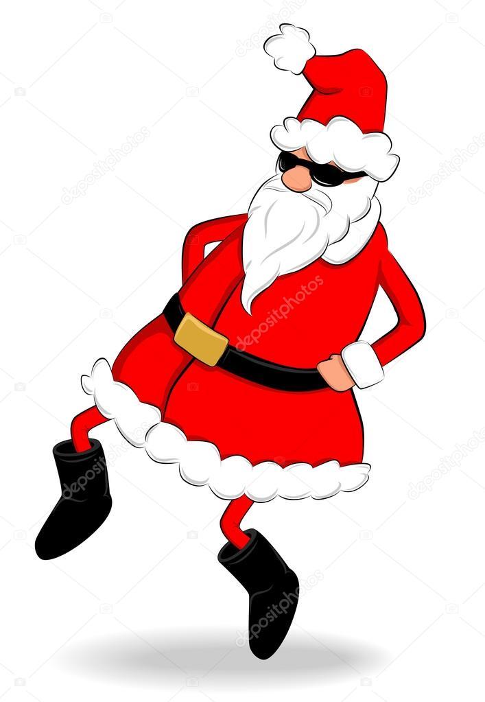 Lustiger Santa Claus