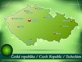 Fotografie Mapa České republiky