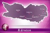 Mapa kaernten