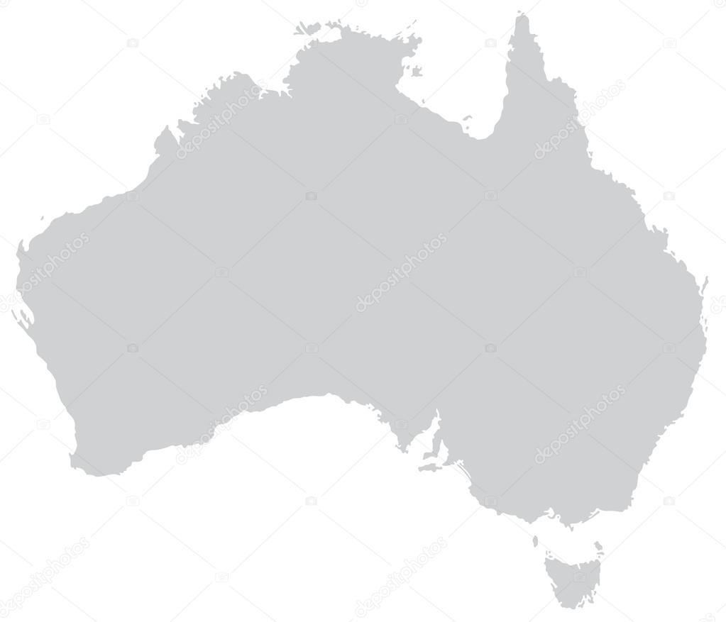 karte von australien stockvektor artalis 39328213. Black Bedroom Furniture Sets. Home Design Ideas