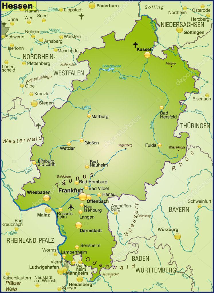 Hessen Größe