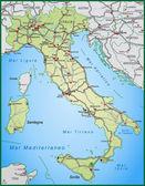 Fotografia mappa di Italia