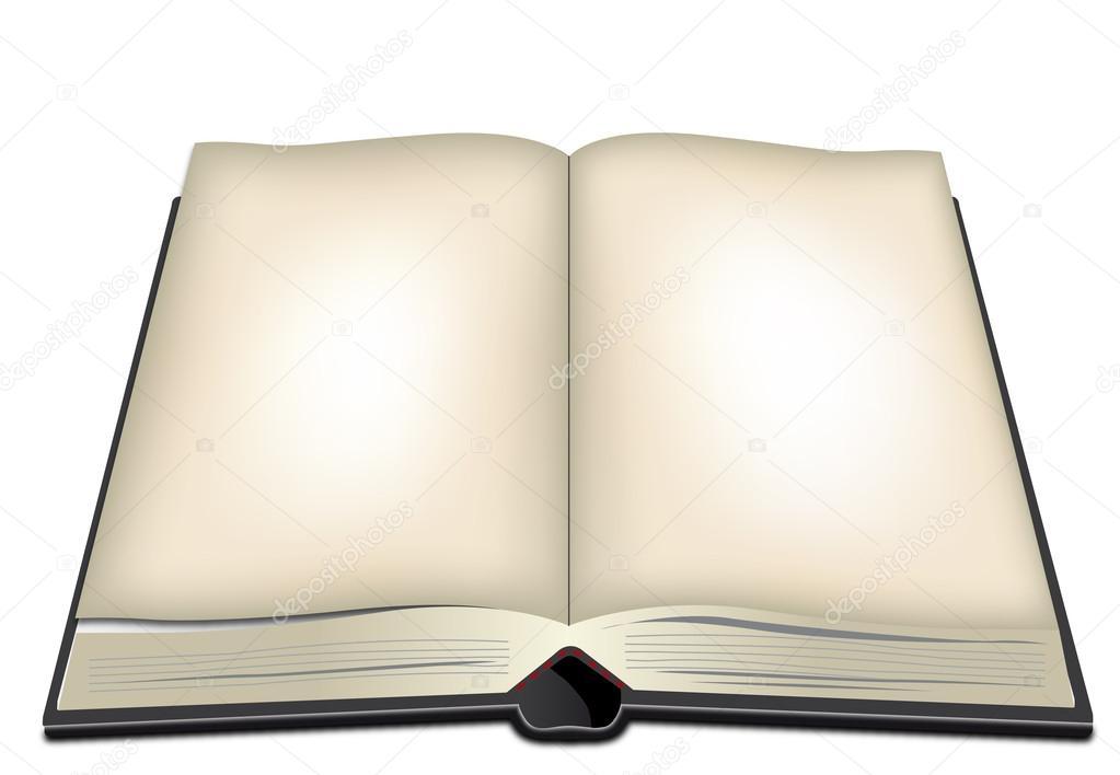 фото открытой книги