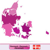 Map of Denmark