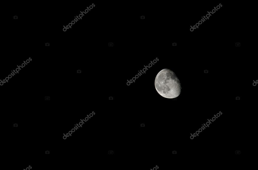 último cuarto de luna — Foto de stock © tkizartici #26148927