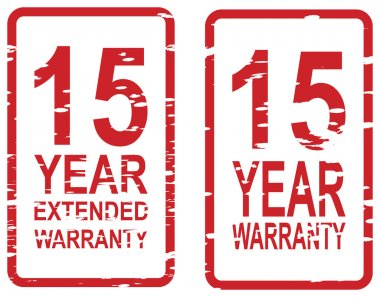 15 Year Warranty Stamps