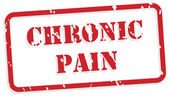 Chronická bolest razítko