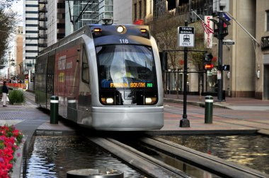 Downtown Metro Rail Houston