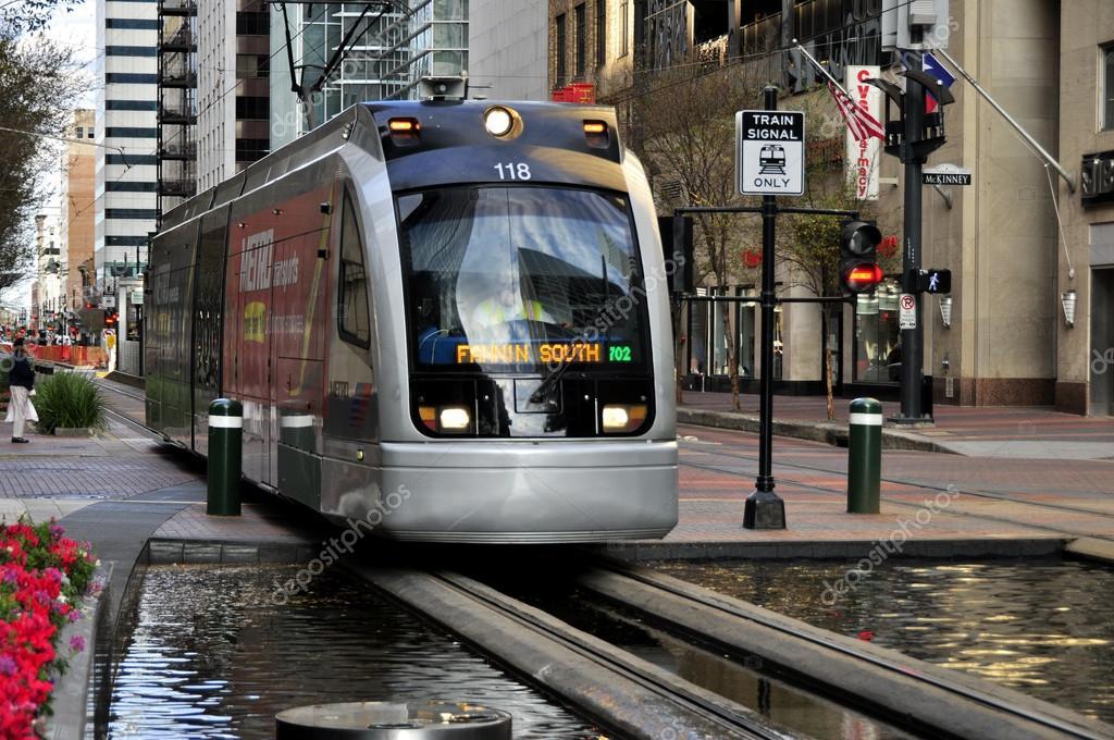 Downtown Metro Rail Houston