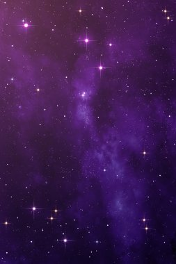 Purple Nebula space background