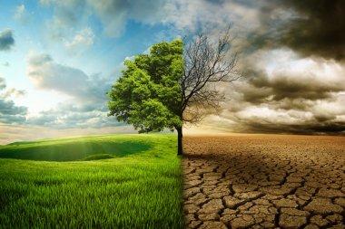 """Картина, постер, плакат, фотообои """"глобальное потепление"""", артикул 30828375"""