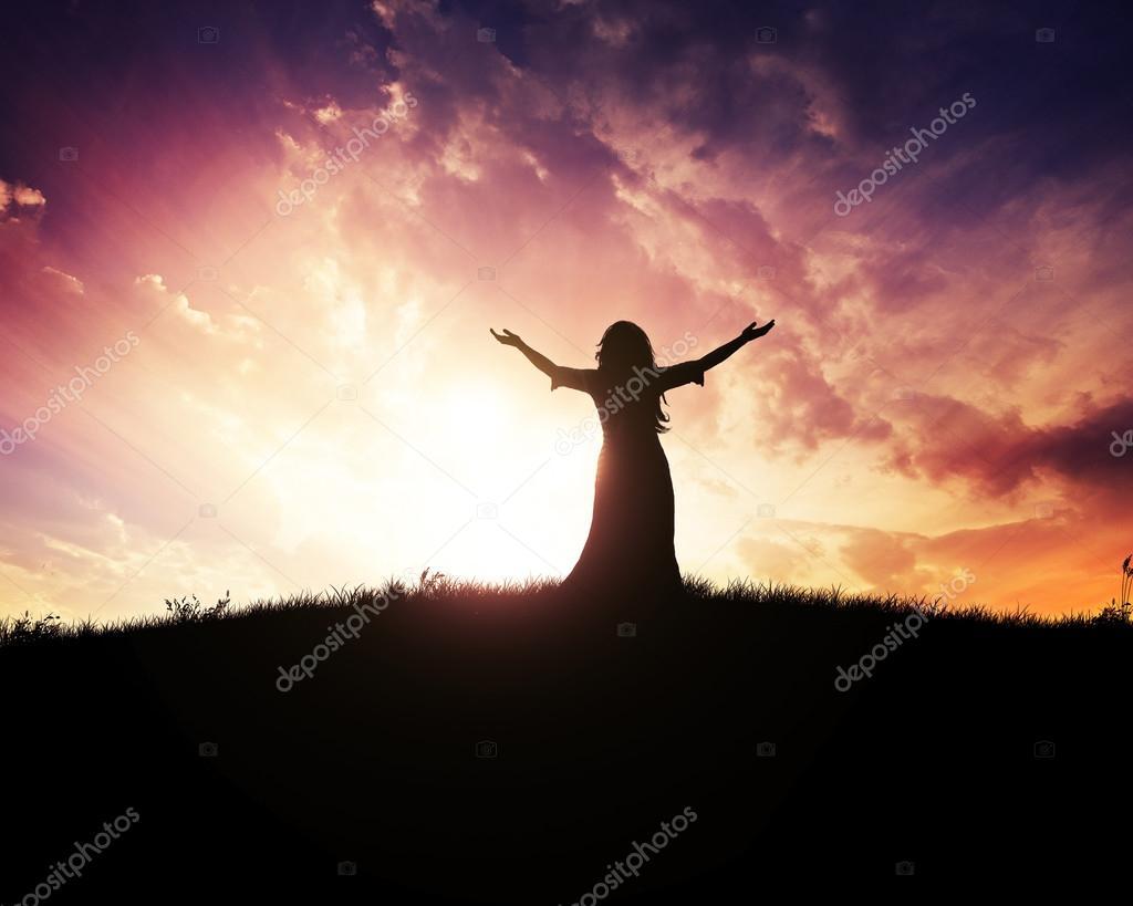 Sunset praise