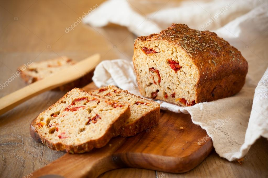 Sundried tomato bread