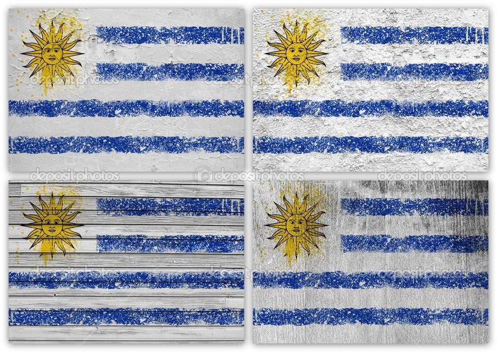 Imágenes Bandera De Uruguay Para Imprimir Collage De Bandera De