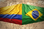 Fotografie Brazil and Colombia