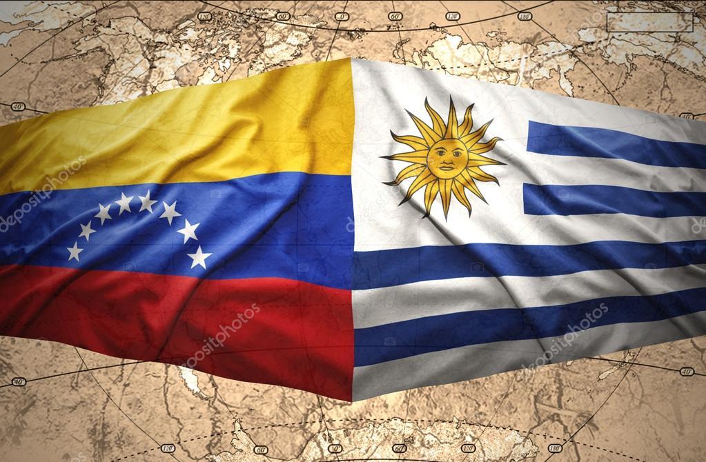 Resultado de imagen para banderas uruguay venezuela