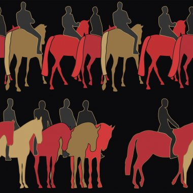 Horsemen pattern