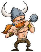 Photo Cartoon viking