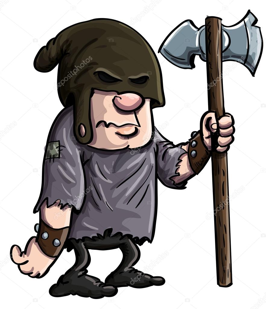 medieval executioner cartoons - 680×789