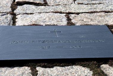 John F Kennedy Gravestone