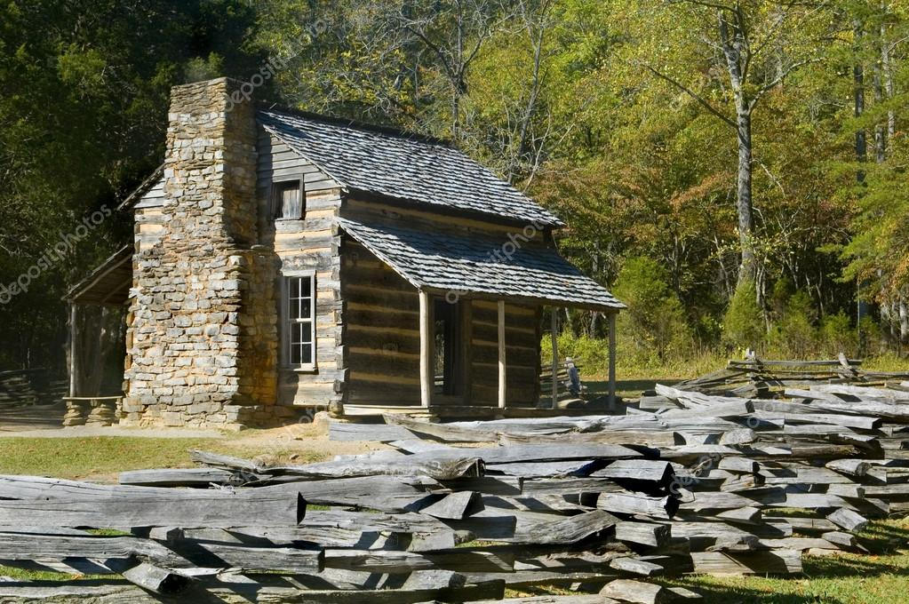 stock cabins property great mountains no log cove park tennessee photo smoky cabin national cades oliver located john mountain area public