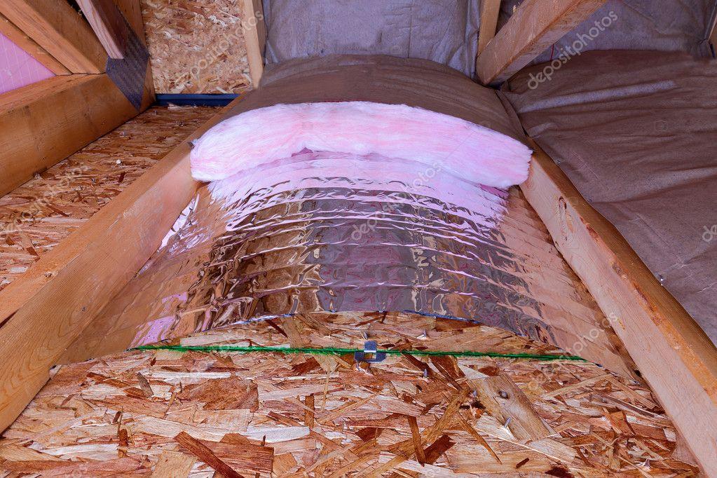 Isolierung Phasen Der Dachboden Stockfoto C Oocoskun 35870381