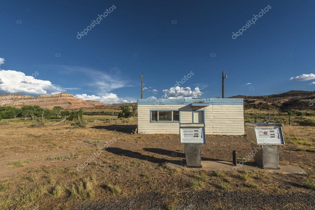 Abandoned Gas Station Near The Ghost Town Of Cisco Utah Stock Photo C Kwiktor 51252295