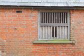 Fa ablak test-ból épületről