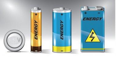 Vector batteries set